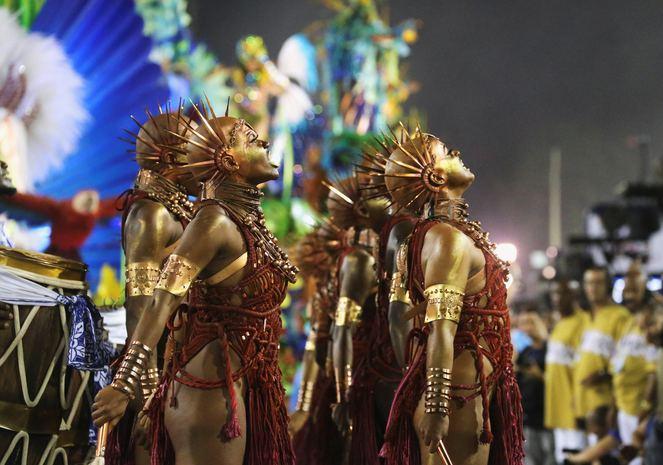 2019 Rio Karnavalı Açılış