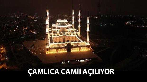 Camlıca Camii Işık Testi