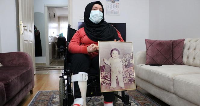10 aylıkken çektirdiği fotoğraftan güç alıyor, yetkililerden yardım istiyor