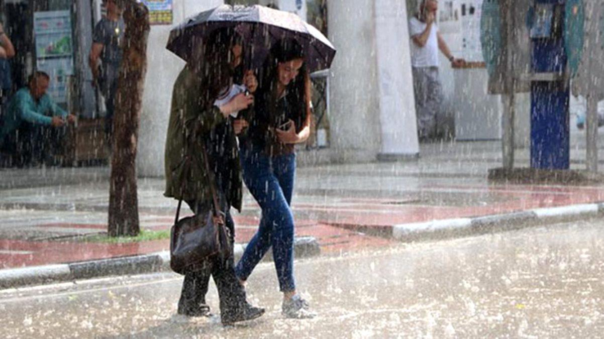 13 il için kuvvetli rüzgar ve sağanak yağış uyarısı