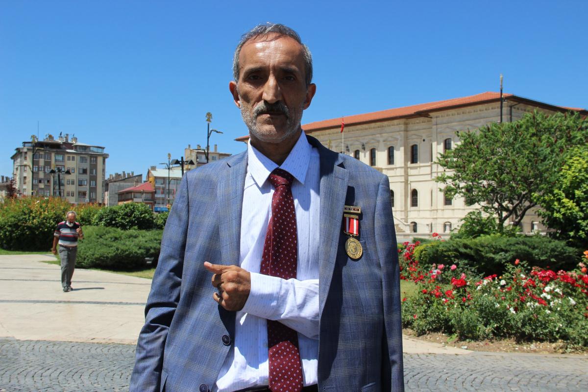 15 Temmuz Gazisi, 3 ay komada kaldı 'yine giderim' dedi