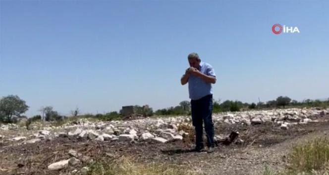 28 yıl sonra Ağdam'daki evine dönen Azerbaycanlı Hacibeyli'nin sevinci