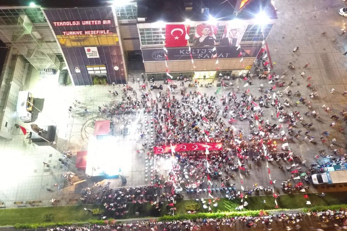 30 Ağustos Zafer Bayramı Gaziosmanpaşa'da coşkuyla kutlandı