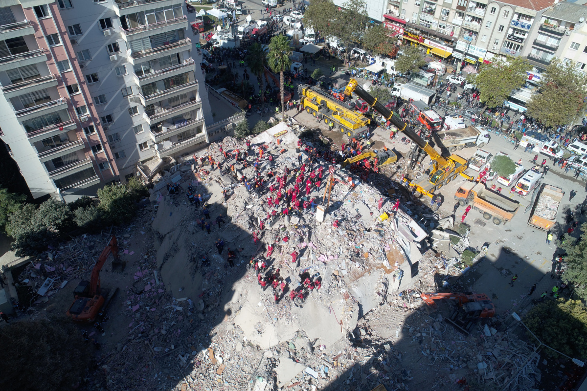 36 kişiye mezar olan Rıza Bey Apartmanı sanığına tahliye