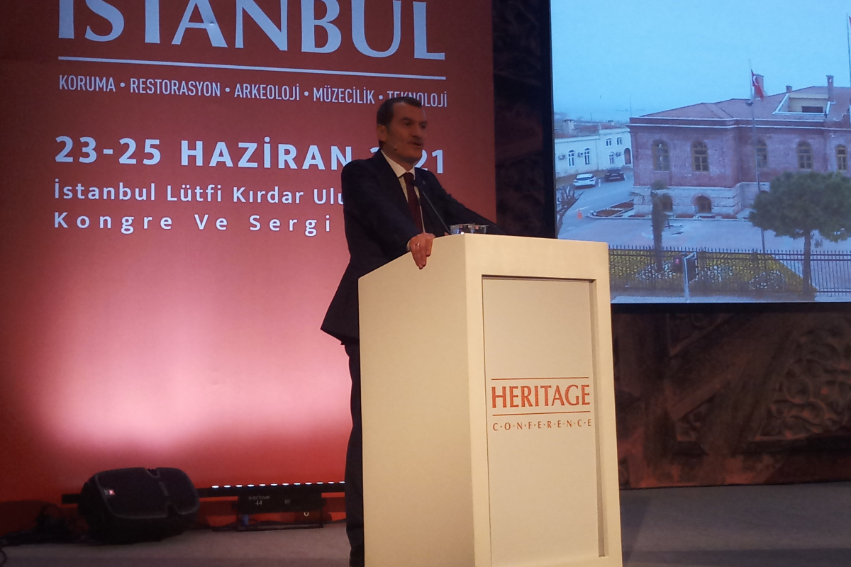 5'inci Heritage İstanbul Konferansı'nda kültürel miras ele alındı