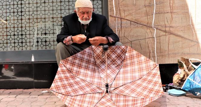 92'lik şemsiye tamircisi
