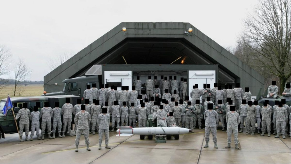 ABD askerleri, Avrupa'daki nükleer silahların yerlerini 'yanlışlıkla' ifşa etti