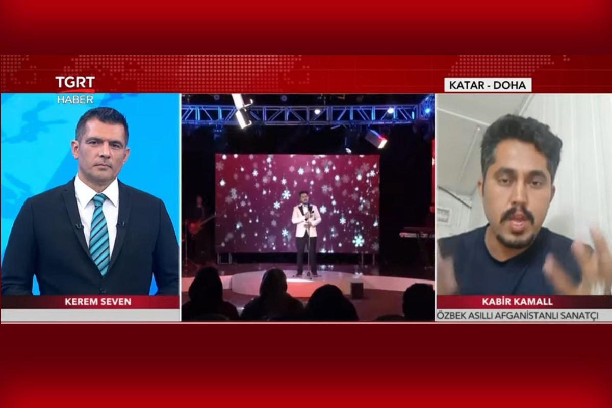 Afganistan'da sanatçı olan Kabir Kamall'ın sahneden mülteciliğe kaçış hikayesi