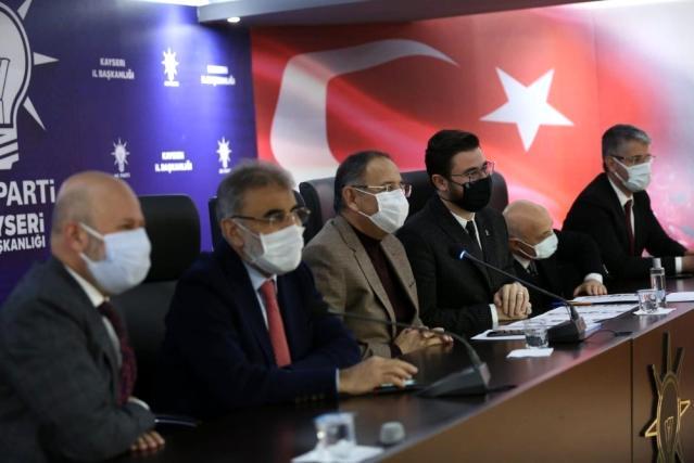 AK Parti Kayseri teşkilatında istişare ve değerlendirme toplantısı