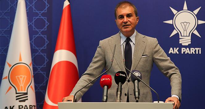 AK Parti Sözcüsü Çelik, Türkiye-İsrail ilişkilerine yönelik açıklamalarda bulundu