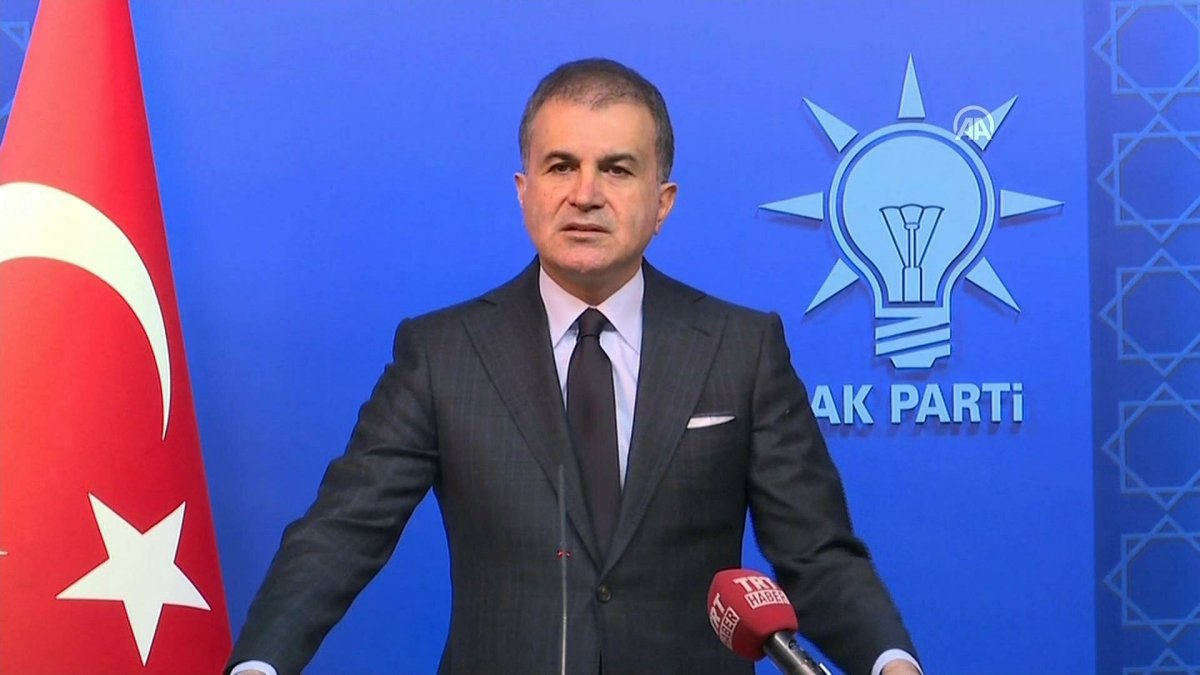 AK Parti Sözcüsü Ömer Çelik'ten mezarları tahrip edenlere sert tepki