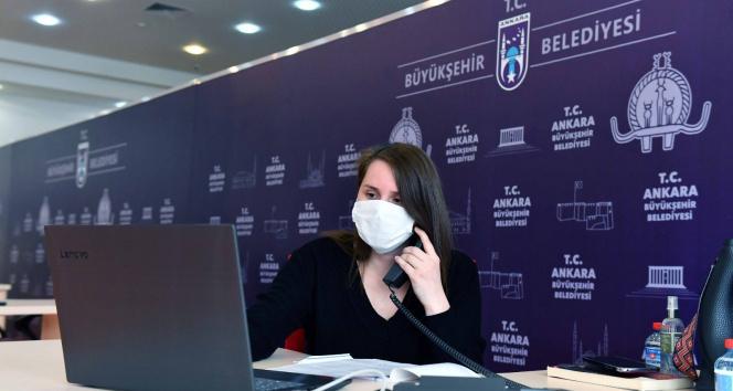 Ankara Büyükşehir psikolojik destek hattı 'tam kapanmada' da hizmet veriyor