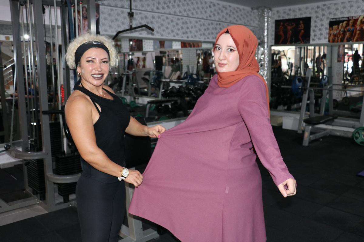 Annesinin gözyaşlarına dayanamadı, iki buçuk ayda 20 kilo verdi