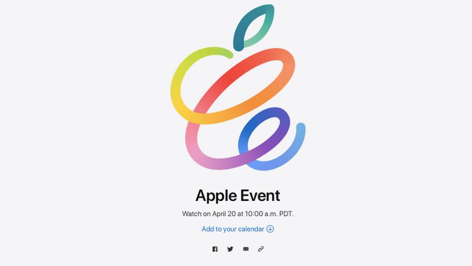 Apple'ın yeni özel etkinliğinin tarihi belli oldu: 20 Nisan