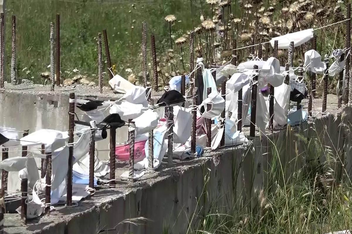 Arnavutköy'de pandemi hatıra duvarı