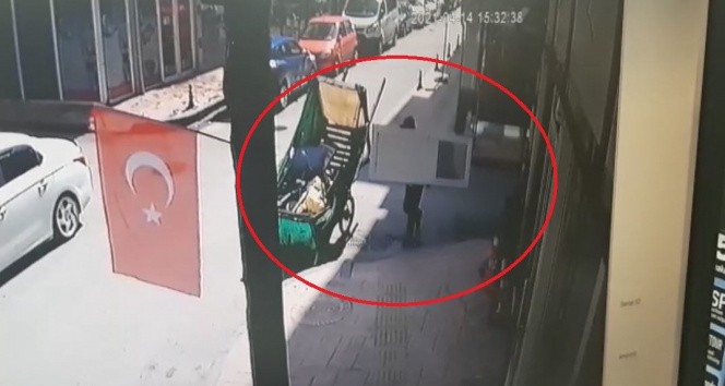 Aynı yerde ikinci kez hırsızlık yapınca polis tarafından suçüstü yakalandı