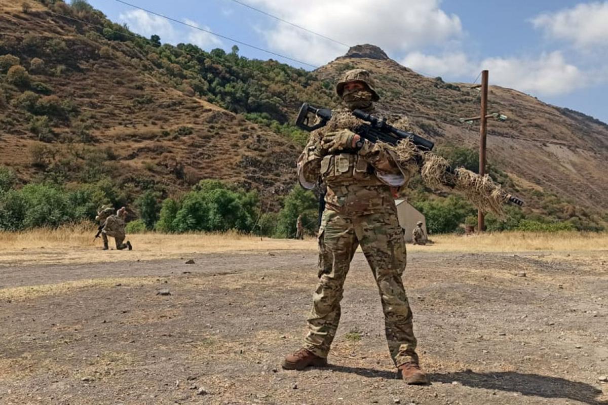 Azerbaycan ve Türkiye'den Laçın'da ortak askeri tatbikat