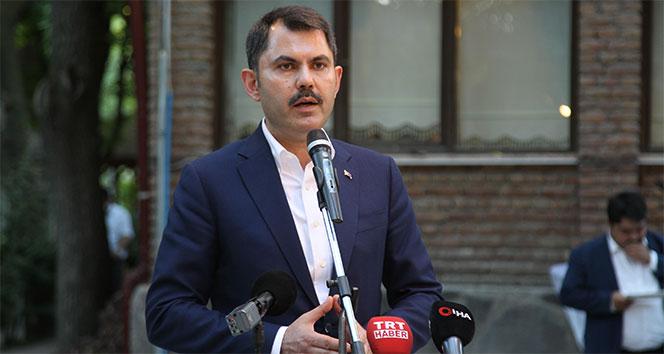 Bakan Kurum: 'Kanal İstanbul Türkiye'nin gücüne güç katacak'
