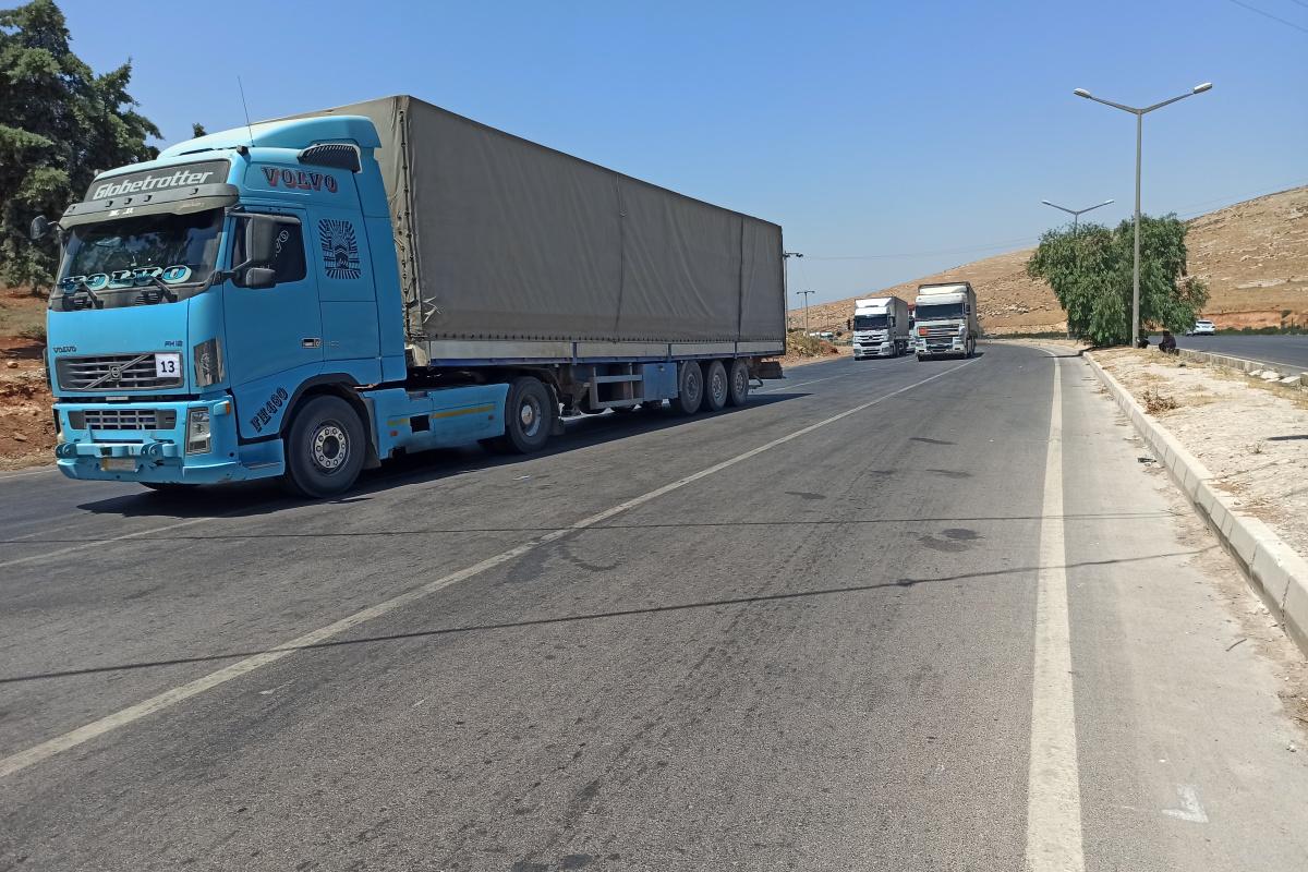 BM'den İdlib'e 46 tır insani yardım