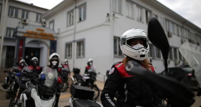 Bursa'da 500 kadın polis her alanda güvenliği sağlıyor