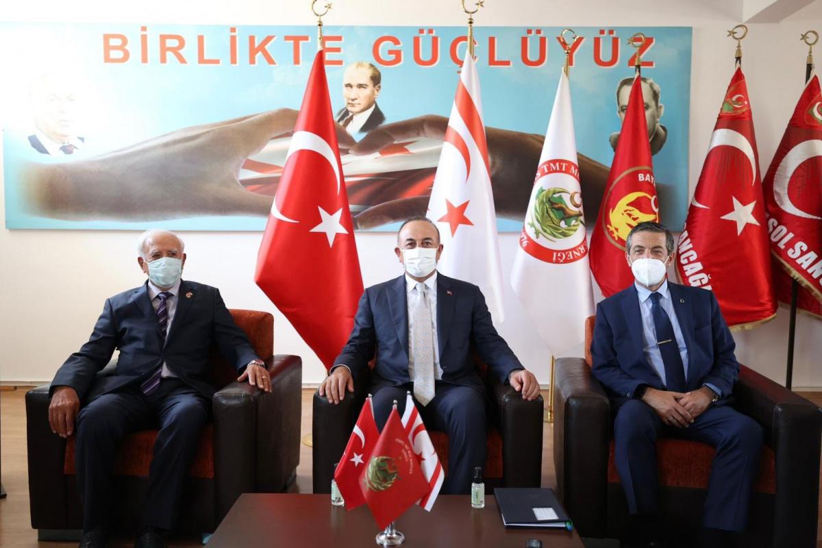 Çavuşoğlu, Türk Mukavemet Teşkilatı Mücahitler Derneği temsilcileriyle bir araya geldi