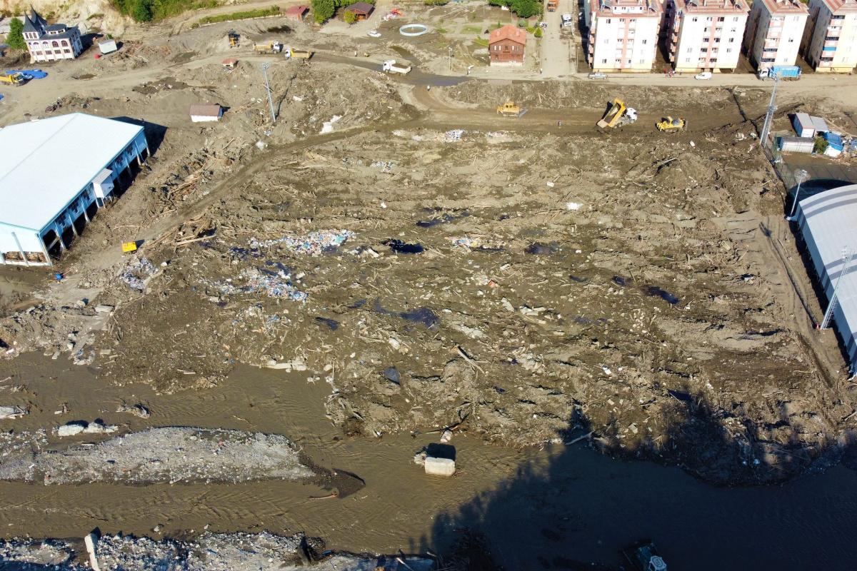 Cerrahpaşa'dan Batı Karadeniz'deki sel felaketine ilişkin rapor
