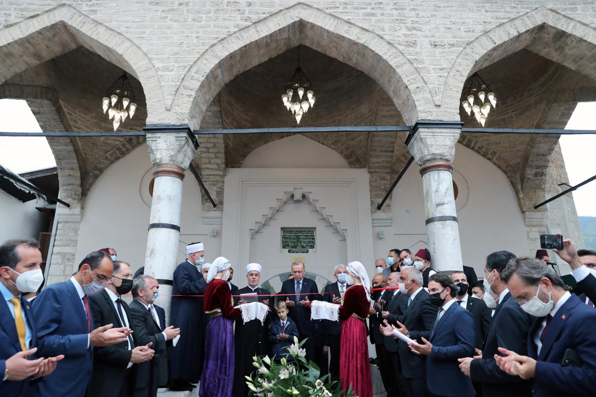 Cumhurbaşkanı Erdoğan Bosna Hersek'te Cami açılışına katıldı