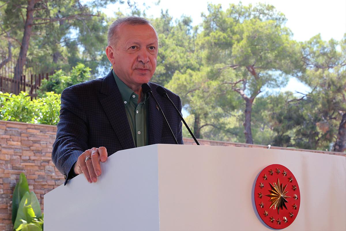 Cumhurbaşkanı Erdoğan'dan 15 Temmuz mesajları!