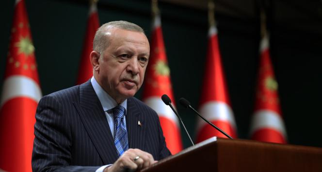 Cumhurbaşkanı Erdoğan'dan ABD Başkanı Biden ve İsrail'e sert tepki!