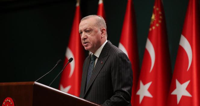 Cumhurbaşkanı Erdoğan'dan önemli açıklamlar