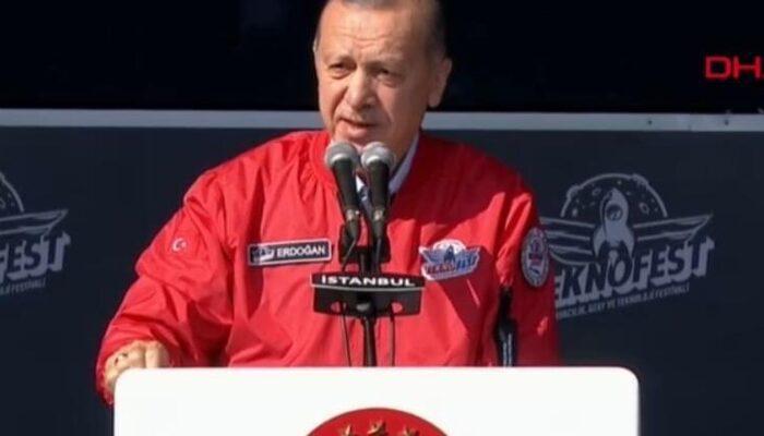 Cumhurbaşkanı Erdoğan duyurdu! TEKNOFEST dünyaya açılacak