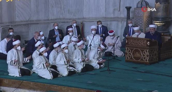 Cumhurbaşkanı Erdoğan hafızlık icazet törenine katıldı