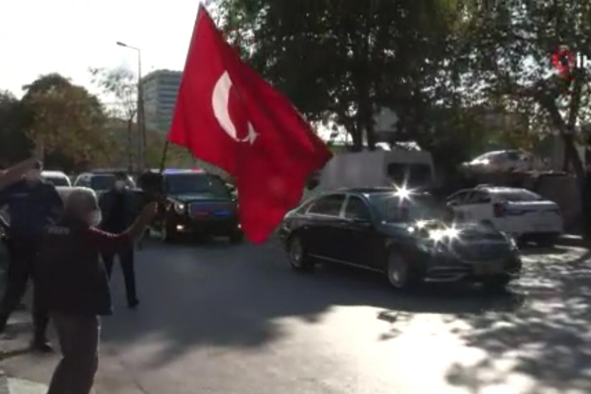 Cumhurbaşkanı Erdoğan Rami Kışlası'nda incelemelerde bulundu