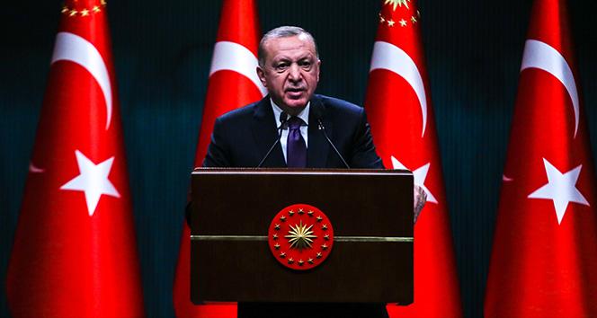 Cumhurbaşkanı Erdoğan: 'Sınırlarımız ötesinde herhangi bir terör oluşumuna izin vermeyeceğiz'
