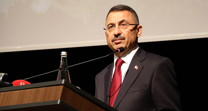 Cumhurbaşkanı Yardımcısı Oktay: 'İsrail devleti Filistin topraklarında insanlık ve savaş suçu işlemektedir'