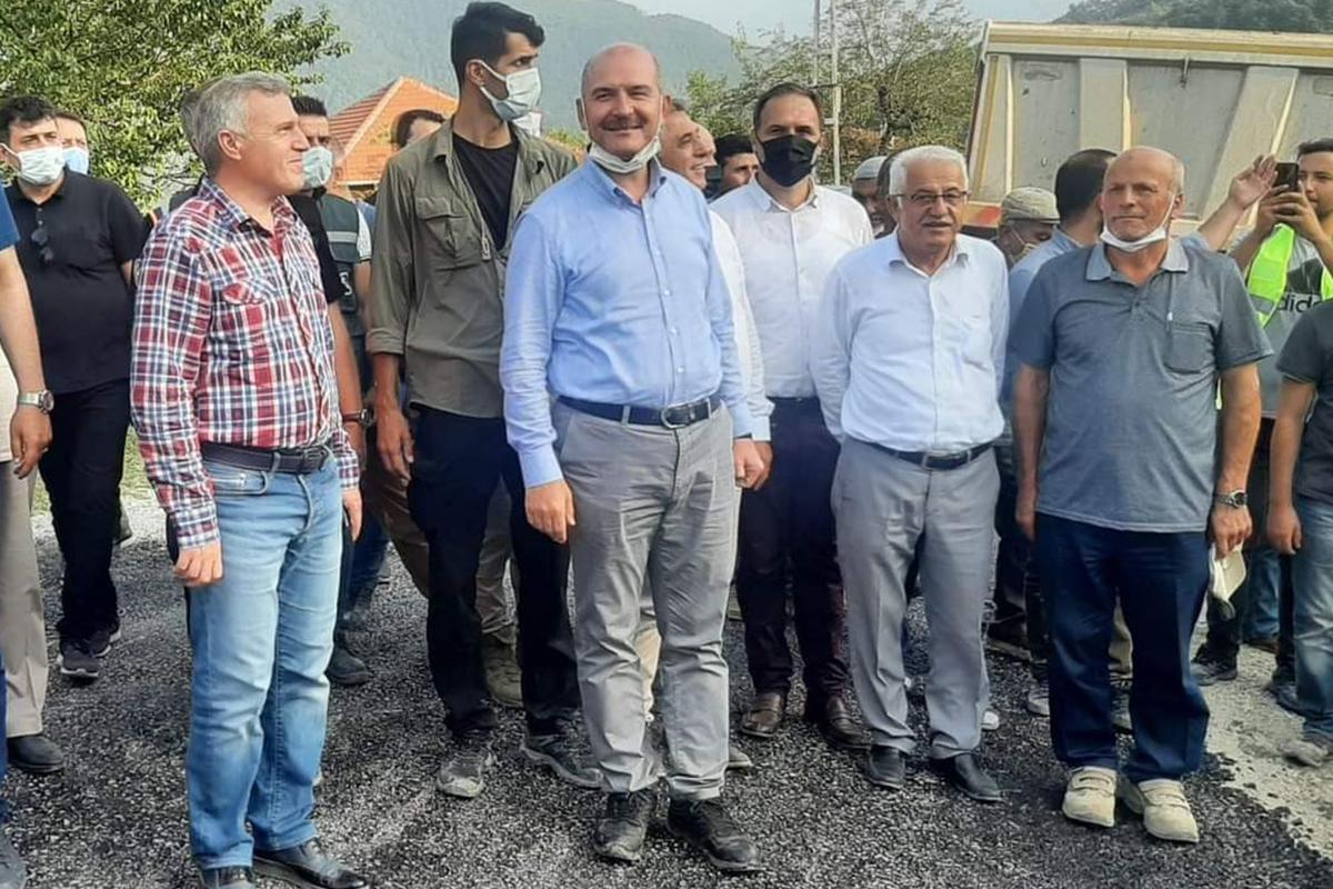 'Cumhuriyet tarihinde ilk defa bir İçişleri Bakanı köyümüzü ziyaret ediyor'