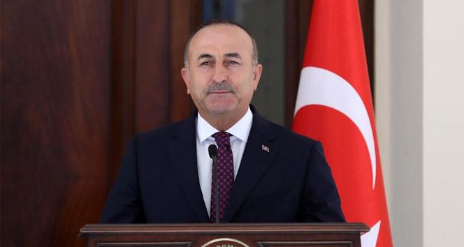 Dışişleri Bakanı Çavuşoğlu'dan, Azerbaycan Gençlik ve Spor Bakanı Rahimov için başsağlığı mesajı