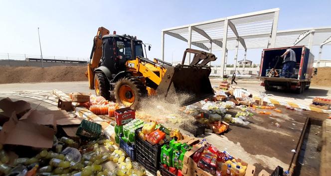 Diyarbakır'da gıda denetimi: 5 ton ürün imha edildi