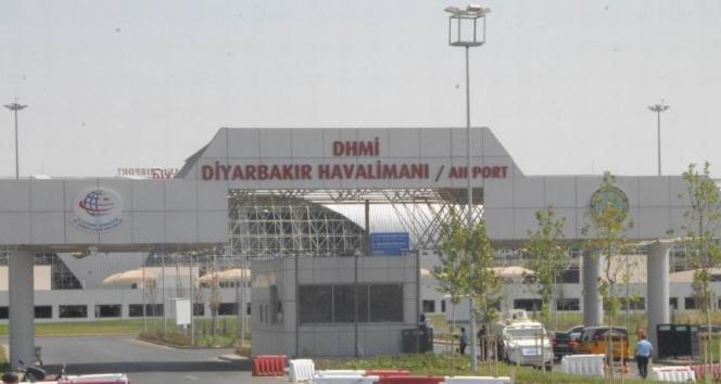Diyarbakır Havalimanı'nda 1 ay uçuşlar yapılmayacak