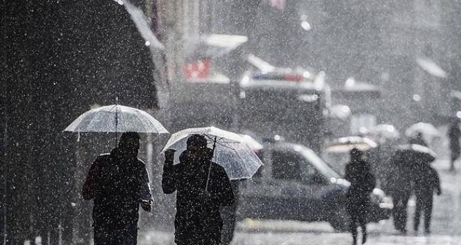 Doğu'da kuvvetli yağış uyarısı