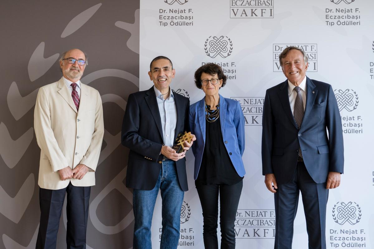 Dr. Nejat F. Eczacıbaşı Tıp Ödülleri sahiplerini buldu