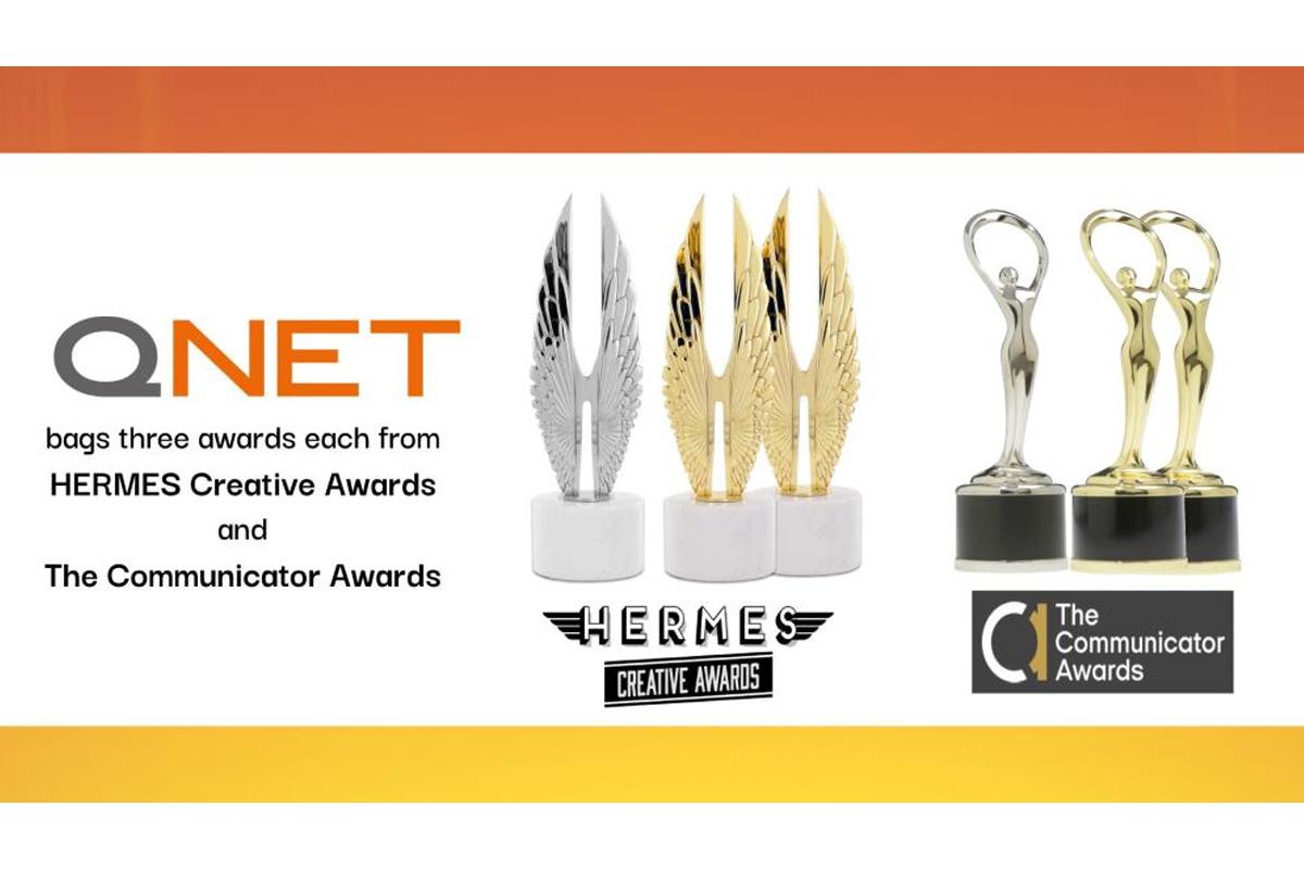Dünya çapında tanınmış iletişim kuruluşlarından QNET'e 6 ödül birden