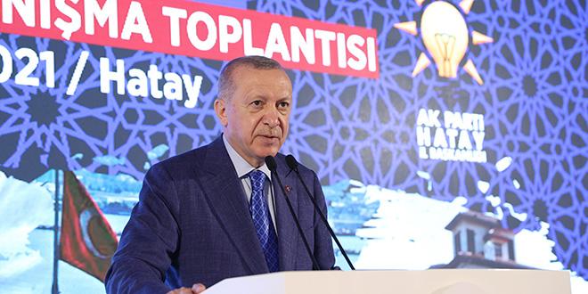 Erdoğan: Seçimin tarihi belli, boşuna çabalamayın