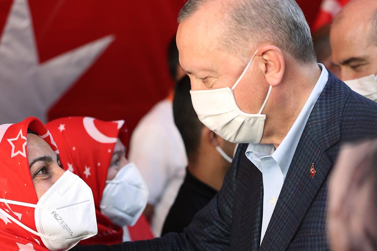 Evlat nöbetindeki aileler, Cumhurbaşkanı Erdoğan ile yaptıkları görüşmeyi anlattı