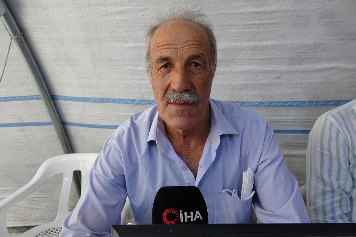 """Eylemdeki baba Erdinç: """"Elindeki kalemi kırdılar silah verdiler bize karşı"""""""