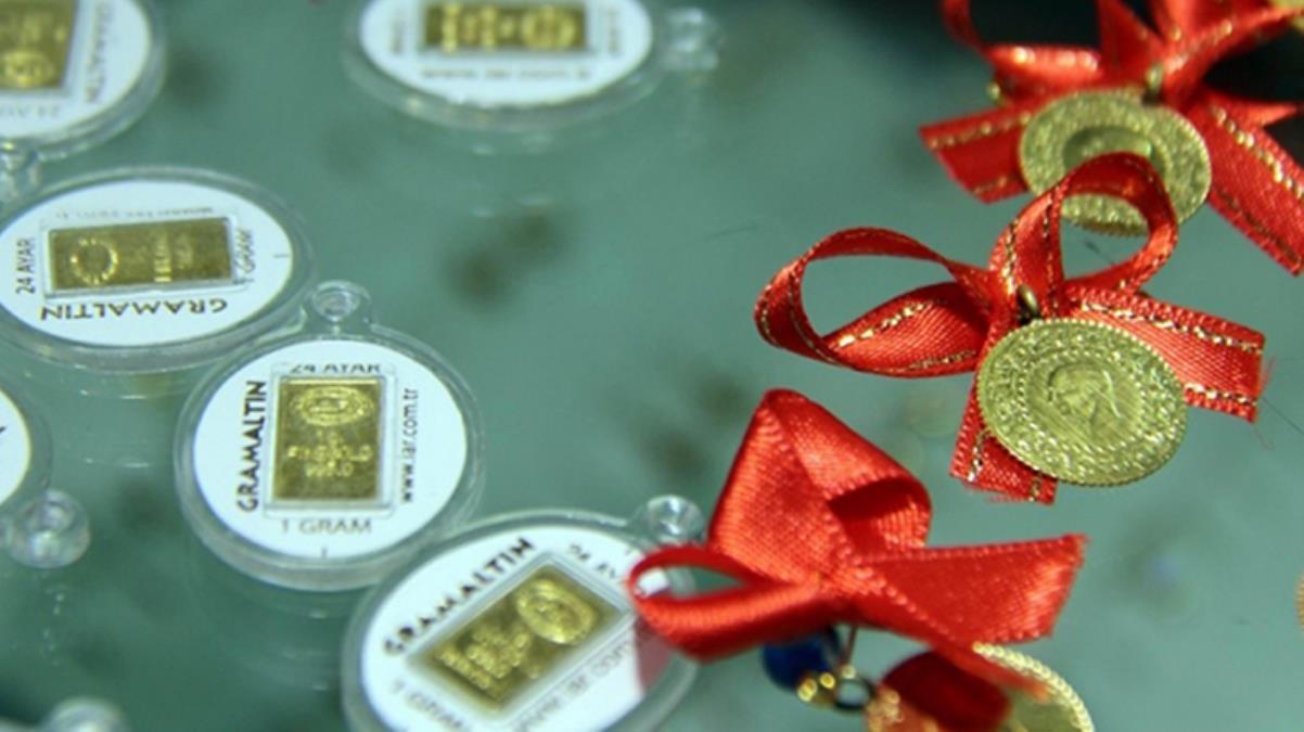 Güne yükselişle başlayan altının gram fiyatı 445,5 liradan işlem görüyor