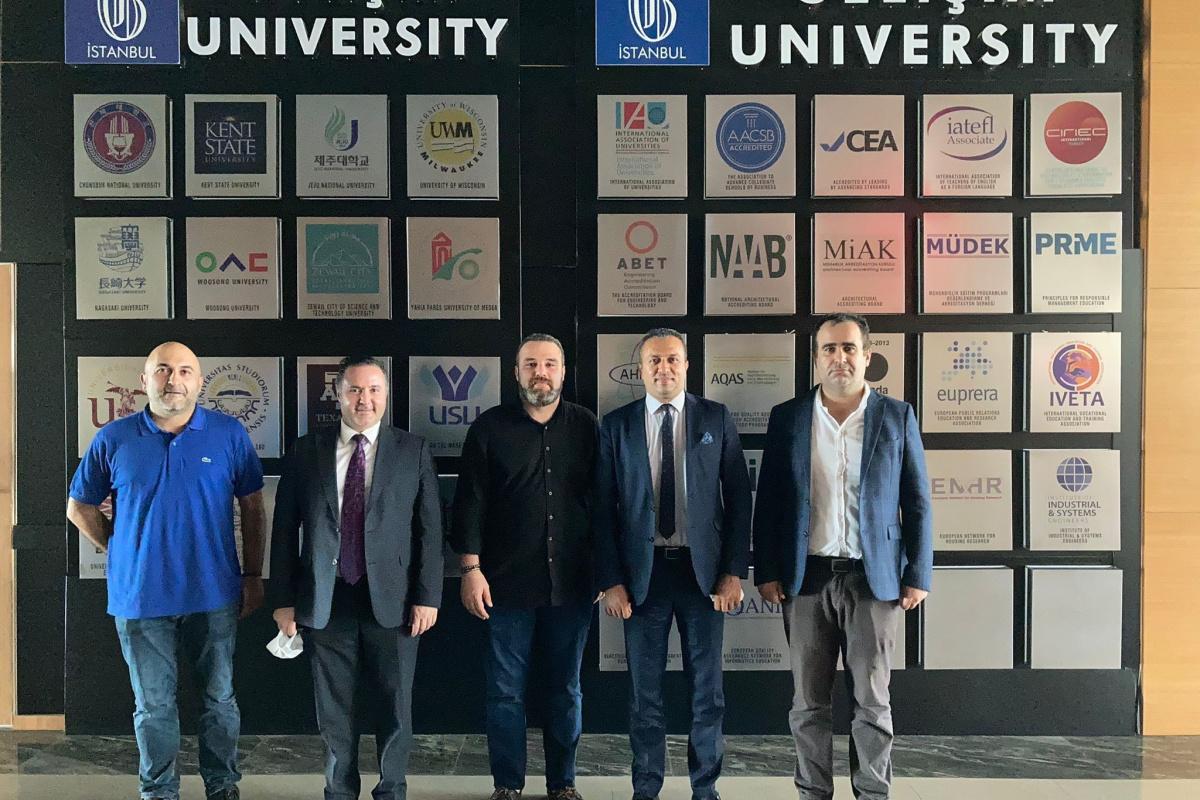 İBB ve İGÜ'den proje işbirliği görüşmesi