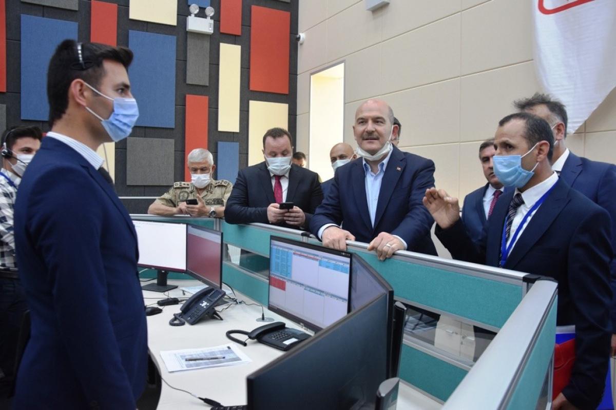 İçişleri Bakanı Soylu GAMER'i ziyaret etti
