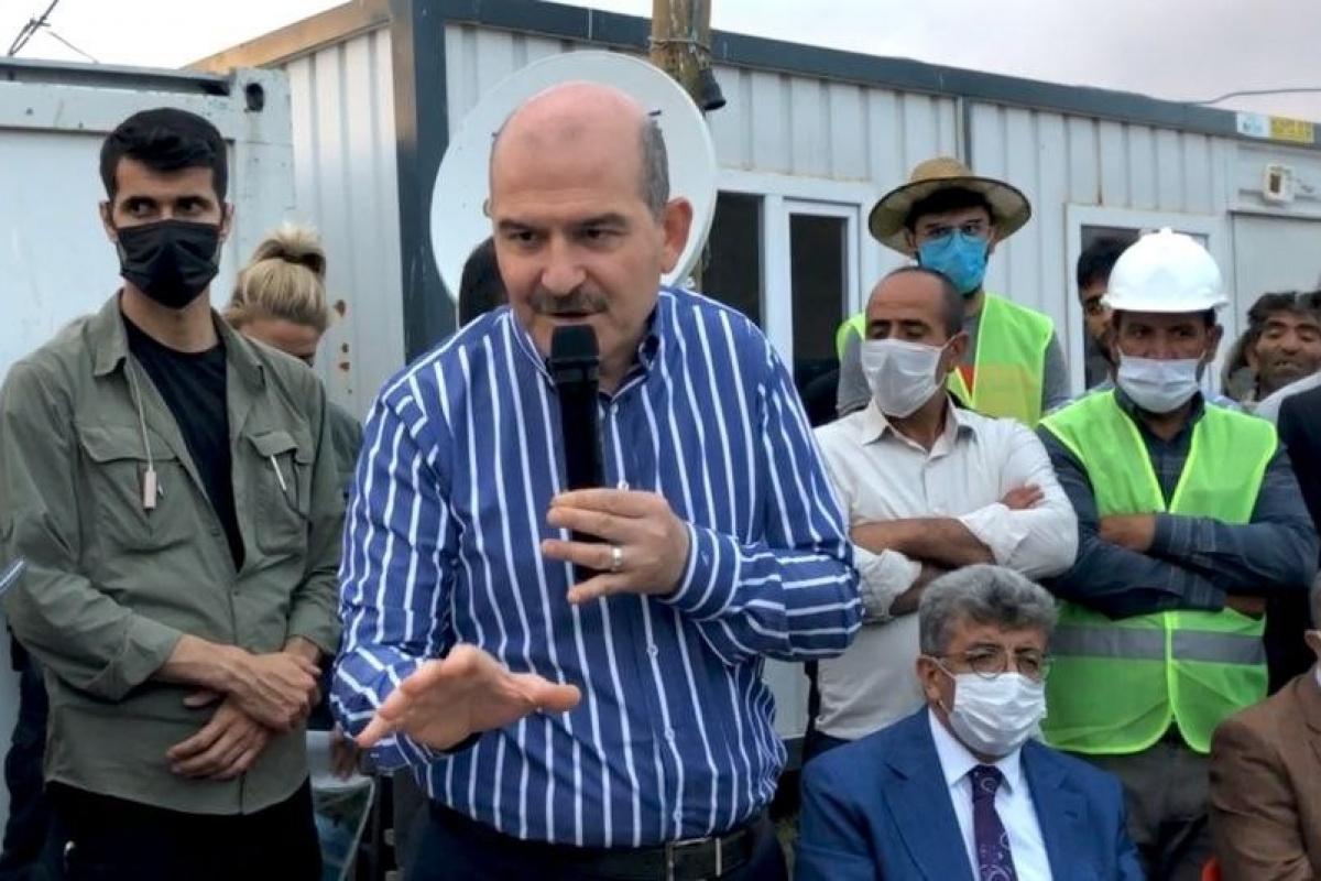 İçişleri Bakanı Soylu: 'Tendürek'in zirvesinde kalıcı üs bölgesini gerçekleştireceğiz'