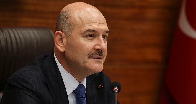İçişleri Bakanı Soylu: 'Türkiye'nin güçlü olduğu alan kaçak göçle mücadelesidir'